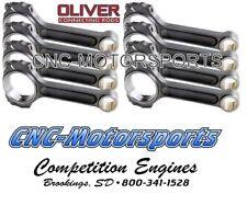 Oliver Billet I Beam Connecting Rods SB Chevy 6.125 Length C6125STUL8
