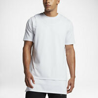 Nike Air Jordan 23 Lux PURE MONEY Mesh Overlay White T Shirt Tank Top 875041 100
