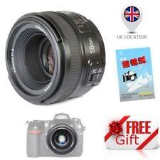 YONGNUO YN50mm F1.8 AF MF Standard Prime Lens for Nikon DSLR D7100 D5500 D800 UK