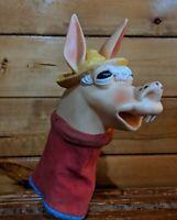 Vintage Puppet Shari Lewis Tarcher Charley Horse Child's 1960