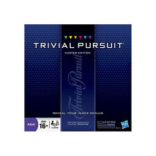 Trivial Pursuit Master Edition Family Board Game - New