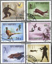 Albanien 982-987 (kompl.Ausgabe) gestempelt 1965 Jagsszenen