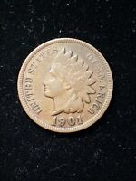 1901 Indian Head Small Cent 1C