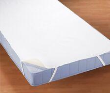Biberna Molton Matratzenauflage 90x190cm Weiß Wasserundurchlässig Inkontinenz