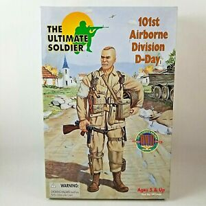The Ultimate Soldier 101st Airborne Division D-Day 1:6 21st Century Toys 1999