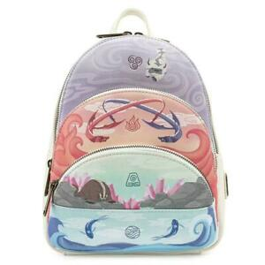 Loungefly EXCLUSIVE Nickelodeon Avatar the Last Airbender 4 Elements Backpack