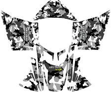 Snowmobile Ski Doo Wrap Kit Rev,Xp, Xr,Xs,Xm 03-16 Camo