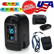 CONTEC OLED Pulse Oximeter CMS50D USA STOCK Blood Oxygen HR PR Monitor CE FDA