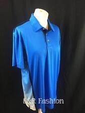 PGA Tour Golf Polo Shirt Bleu Taille L (B23)
