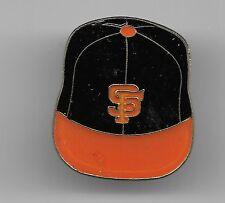Vintage Hardened Clear Coat San Francisco Giants Baseball Cap b2 old enamel pin