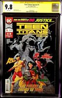 DC Comic TEEN TITANS SPECIAL #1 CGC SS 9.8 1st Appearance CRUSH, LOBO's Daughter
