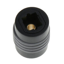 Female to Female Optical Toslink Digital Audio Extension Cable Coupler