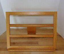 Large Solid Honey Oak Adjustable Book Stand w/Adjustable Easel Assembly