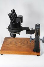 AO American Optical Spencer Stereo Microscope 1x & 2x Model 28LF works well