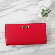 267c5f4a92cc NWT Kate Spade Stacy Newbury Lane Leather Wallet (Priklypear) WLRU2673  119