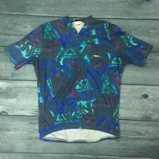 Vintage TREK Retro Cycling Jersey Short Sleeve Large Made in USA / Cycle