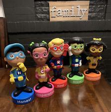 Lakeshore Learning Character Kids Superheroes Vinyl Dolls Educational