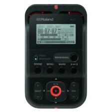Roland R-07 Portable High-Resolution Audio Recorder - Black #R-07-BK | NEW