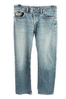 Vintage Diesel Mid Waist Unisex Denim Jeans Stonewashed W33 L34 Blue - J4468