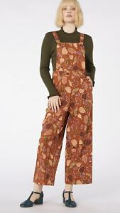 """*NWT* PRINCESS HIGHWAY """"Forest Print Overall"""" in Gold Colourway sz 14 Rrp $98.00"""