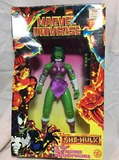 "Marvel Universe She-Hulk Deluxe Edition 10"" Vintage 1997 new in box"