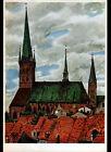 LUBECK (ALLEMAGNE) EGLISE / PETRIKIRCHE illustrée par G. BOESE