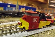 N-Scale Custom Built & Painted JORDAN SPREADER ROCK ISLAND (RI)