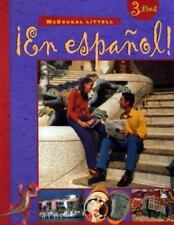 McDougal Littell ¡en Español!: En Espanol! Level 3 by Audrey L....