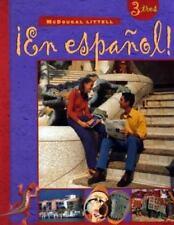 En Espanol!: Level 3 - High School