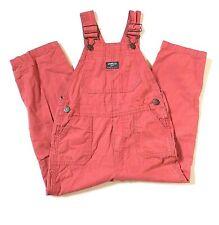 Vintage OshKosh B'gosh Red Vestbak Overalls Size 5T Unisex