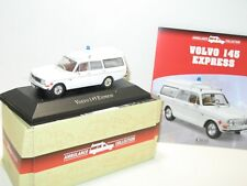 1/43 voiture ambulance volvo 145 express, collection atlas ambulance métal