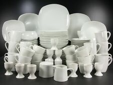 Square weiss Service Einzelteile  Porzellan CreaTable zu 13779