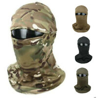 Tactical Airsoft CS Camouflage Hood Dustproof Full Face Mask TMC3267