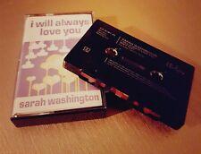 SARAH WASHINGTON / I WILL ALWAYS LOVE YOU /  UK CASSETTE / 2006