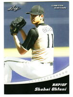 2018 Leaf Limited Edition #LE-01 SHOHEI OHTANI RC Rookie Angels QTY AVAILABLE
