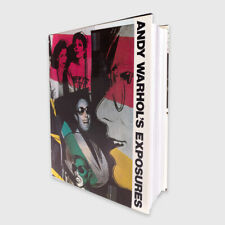 Andy Warhol's Exposures Book 1979 FIRST Edition Book