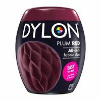 Dylon Fabric & Clothes Dye, Dylon Machine Dye Colour Plum Red 51