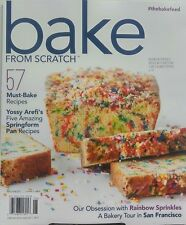 Bake From Scratch May June 2017 57 Must Bake Recipes Cake Crumb FREE SHIPPING sb