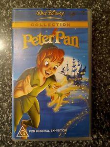 PETER PAN - Walt Disney Collection - RARE! - Original Animation - VHS 📼