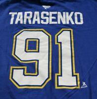 St. Louis Blues Vladimir Tarasenko T-Shirt 2XL Shirt Player Tee NHL Hockey