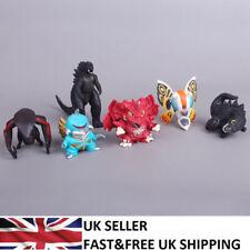 Godzilla Monsters 2014 Movie Q Version 6 PCS Action Figure Doll Gift Toy UK