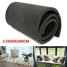 200x60x2.5cm Cushion Foam Rubber Replacement Seat Firm Polyurethane Foam