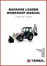 Terex 760 820 860 970 980 Sx Elite Backhoe Tractor Shop Service Repair Manual