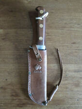 Puma White Hunter 6399 Genuine Pumaster Steel W.-Germany Knife Leather Sheath