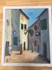 "Ölgemälde ""Persien"" des Schwedischen Malers Hartvig Jarlhov (1919-1992) signiert"