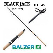 Balzer Black Jack Tele 45 3.30m 10-45g Teleskoprute Angel