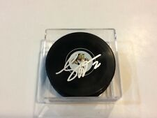 Sean Bergenheim Signed Florida Panthers Hockey Puck Autographed b