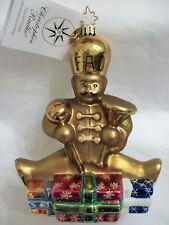 """Radko FAO Schwarz 2002 """"GOLDEN GUARD"""" Ornament RARE EXCLUSIVE New in Box"""