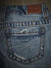 AEROPOSTALE Bayla Skinny 100% Cotton Light Blue Denim Jean Women Size 1/2 R x 30