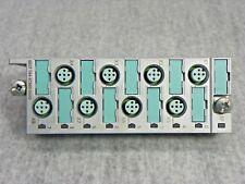 SIEMENS SIMATIC ET 200PRO #6ES7 194-4CB00-0AA0 CONNECTION MODULE for I/O 8 x M12